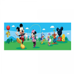 Cenefa para pared de Mickey y Minnie